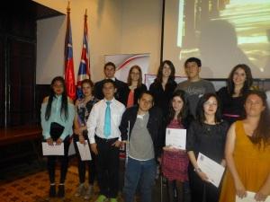 Foto Grupal Participantes en Concurso ESU - Aparece Joaquín-Ignacio Oporto C. 13 Nov 2013