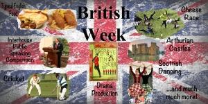 British Week poster