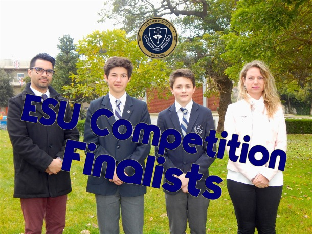 ESU Writing Competition Finalists
